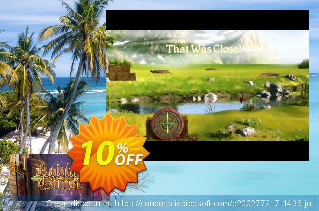 Robin's Quest PC discount 10% OFF, 2020 Back-to-School promotions discounts
