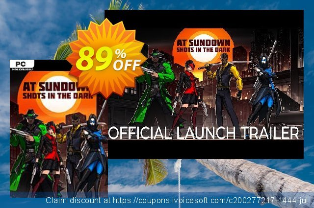 At Sundown: Shots in the Dark PC discount 89% OFF, 2020 Exclusive Student discount offering deals