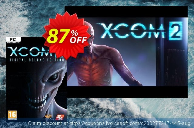 XCOM 2 Digital Deluxe Edition PC discount 87% OFF, 2021 Mother's Day offering sales. XCOM 2 Digital Deluxe Edition PC Deal