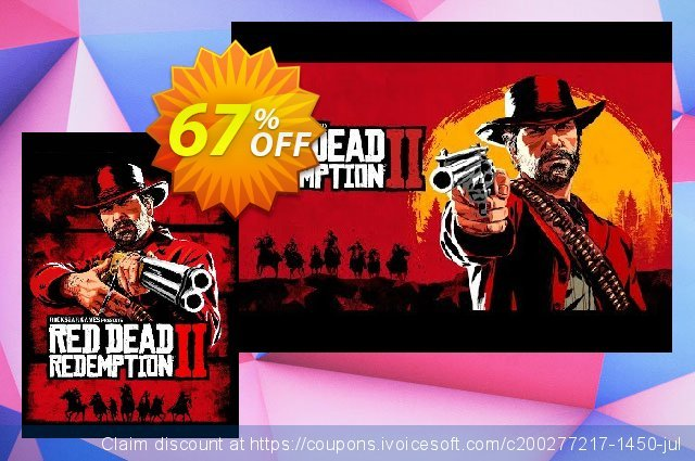 Red Dead Redemption 2 PC discount 47% OFF, 2021 Resurrection Sunday promo sales