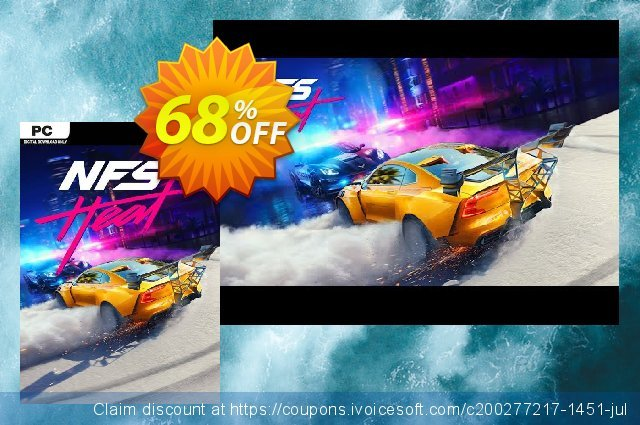 Need for Speed: Heat PC discount 52% OFF, 2020 College Student deals offering sales