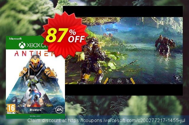 Anthem Xbox One discount 87% OFF, 2020 New Year's Weekend offering sales