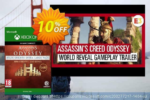 Assassins Creed Odyssey Helix Credits XL Pack Xbox One  놀라운   촉진  스크린 샷