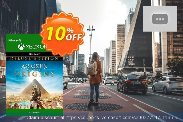 Assassins Creed Origins Deluxe Edition Xbox One 了不起的 销售 软件截图