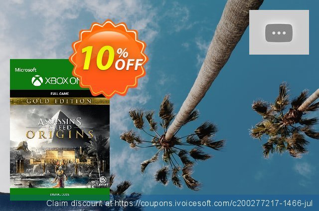 Assassins Creed Origins Gold Edition Xbox One 神奇的 交易 软件截图
