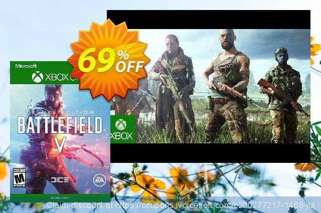 Battlefield V 5 Deluxe Edition Xbox One discount 47% OFF, 2020 University Student deals offering sales