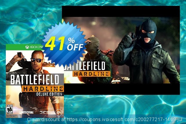Battlefield Hardline Deluxe Edition Xbox One - Digital Code 可怕的 产品折扣 软件截图