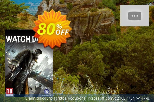 Watch Dogs PC discount 83% OFF, 2021 Mother's Day offering sales. Watch Dogs PC Deal