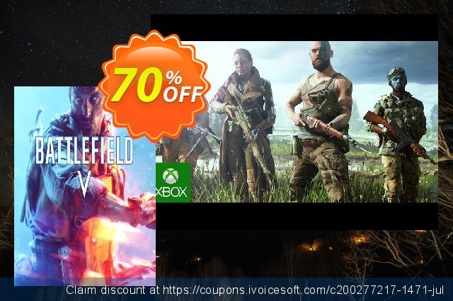 Battlefield V 5 Xbox One discount 10% OFF, 2020 College Student deals offering sales