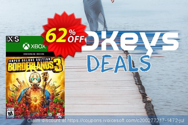 Borderlands 3: Super Deluxe Edition Xbox One discount 11% OFF, 2020 New Year's Day promo sales