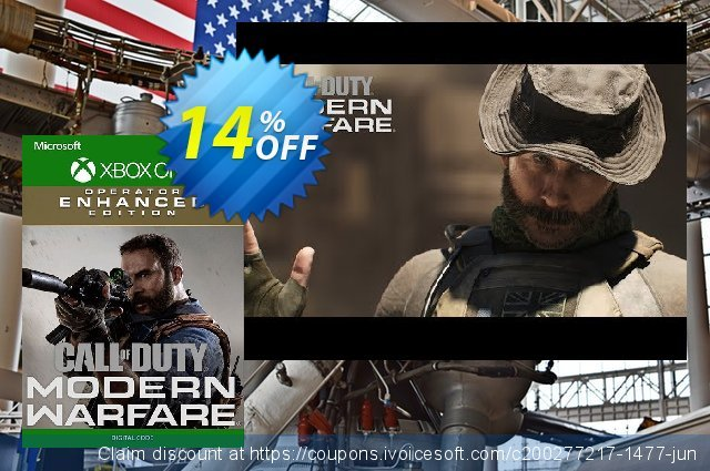 Call of Duty Modern Warfare Operator Enhanced Edition Xbox One discount 14% OFF, 2020 Back to School event deals