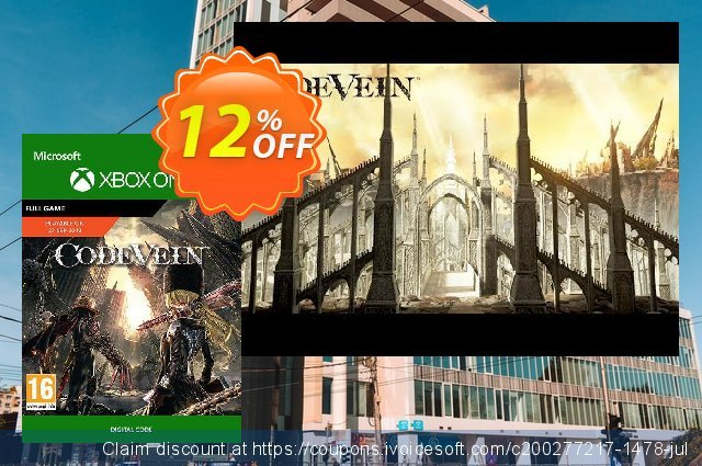 Code Vein Xbox One discount 12% OFF, 2020 Back-to-School promotions offer
