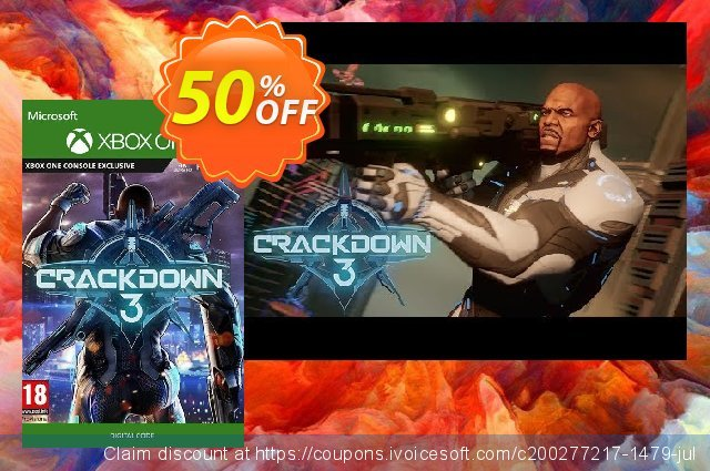 Crackdown 3 Xbox One/PC discount 60% OFF, 2020 Back to School deals discount