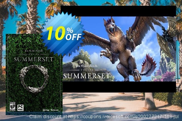 The Elder Scrolls Online Summerset Upgrade PC + DLC 了不起的 产品销售 软件截图