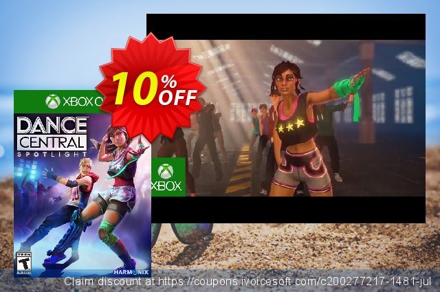 Dance Central Spotlight Xbox One - Digital Code discount 10% OFF, 2020 Back to School offer offering sales