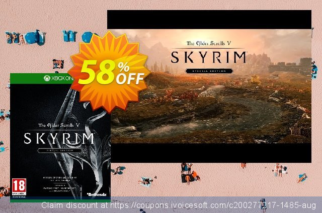 Elder Scrolls V 5 Skyrim Special Edition Xbox One discount 13% OFF, 2020 Student deals offering sales