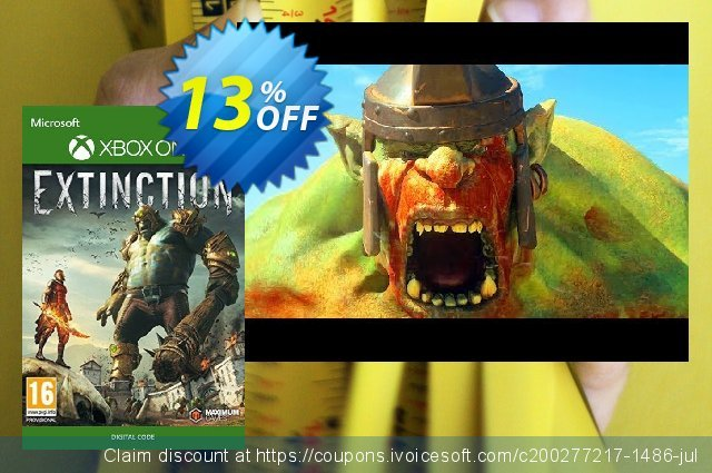 Extinction Xbox One discount 13% OFF, 2020 Exclusive Student discount offering sales