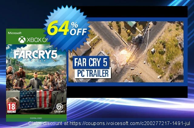 Far Cry 5 Xbox One discount 58% OFF, 2020 College Student deals offering sales