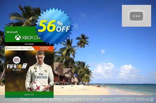 FIFA 18: Ronaldo Edition (Xbox One) discount 56% OFF, 2020 Halloween promotions