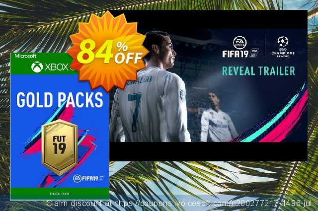 FIFA 19 - Jumbo Premium Gold Packs DLC Xbox One discount 84% OFF, 2020 Back to School promotion deals