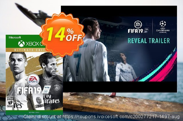Fifa 19 Ultimate Edition Xbox One discount 14% OFF, 2020 Back to School promo offer