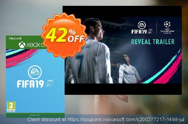 Fifa 19 Xbox One discount 42% OFF, 2020 Back to School event discount