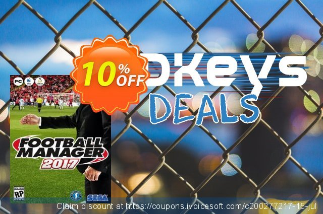 Football Manager 2017 PC discount 10% OFF, 2021 Mother's Day offering sales. Football Manager 2017 PC Deal