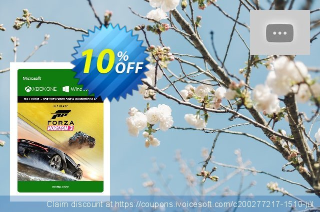 Forza Horizon 3 Ultimate Edition Xbox One/PC discount 10% OFF, 2020 University Student deals offering sales