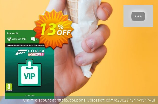 Forza Horizon 4 VIP Pass Xbox One/PC discount 10% OFF, 2020 Back to School promotion discount