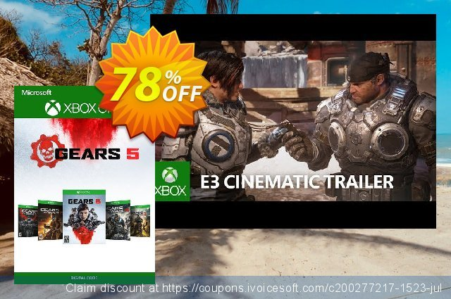 Gears 5: Bundle Pack Xbox One discount 81% OFF, 2020 Back to School offer offering sales