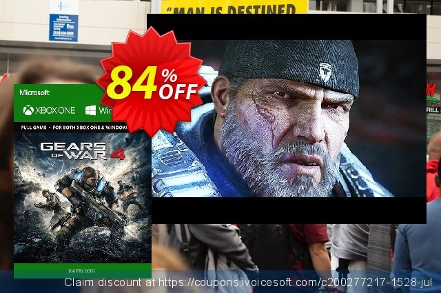Gears of War 4 Xbox One/PC - Digital Code discount 78% OFF, 2020 Exclusive Student discount offering sales