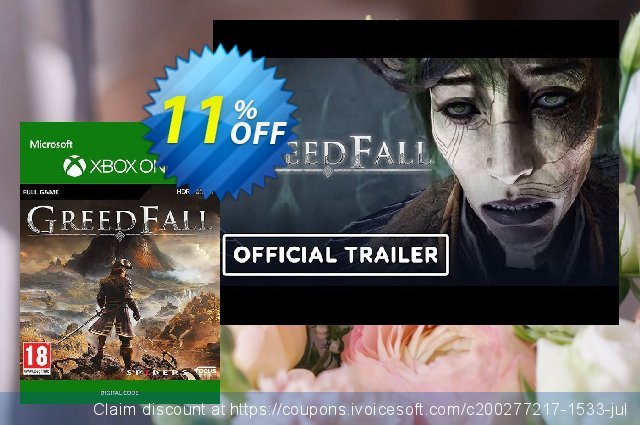Greedfall Xbox One discount 11% OFF, 2020 College Student deals sales