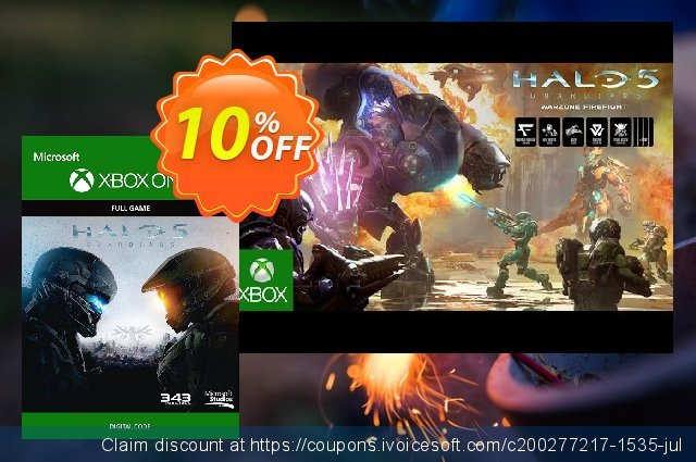 Halo 5: Guardians Xbox One - Digital Code discount 10% OFF, 2020 College Student deals offer