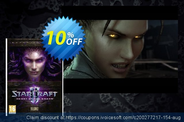 Starcraft II 2: Heart of the Swarm (PC/Mac) discount 10% OFF, 2020 Back to School event promo sales