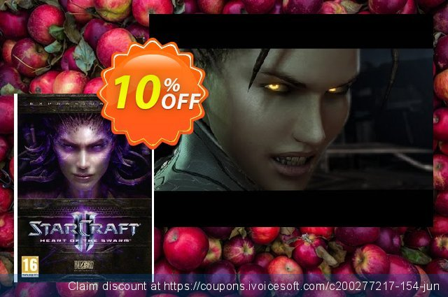 Starcraft II 2: Heart of the Swarm (PC/Mac)  굉장한   프로모션  스크린 샷