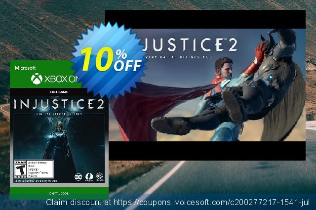 Injustice 2 Digital Deluxe Edition Xbox One 대단하다  프로모션  스크린 샷