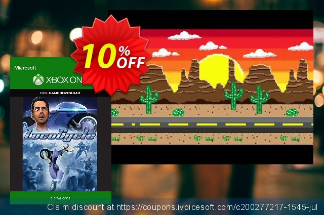LocoCycle Xbox One - Digital Code discount 10% OFF, 2020 Back to School coupons offering sales