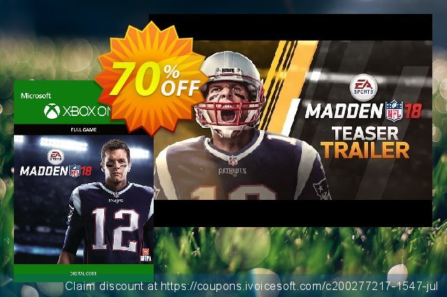 Madden NFL 18 Xbox One discount 70% OFF, 2020 Exclusive Student deals offering sales