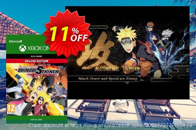 Naruto To Buruto Shinobi Striker Deluxe Edition Xbox One  특별한   프로모션  스크린 샷