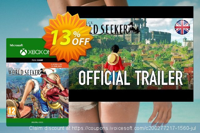 One Piece World Seeker Xbox One discount 13% OFF, 2020 Back to School promo promo