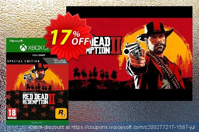 Red Dead Redemption 2: Special Edition Xbox One 特殊 销售 软件截图