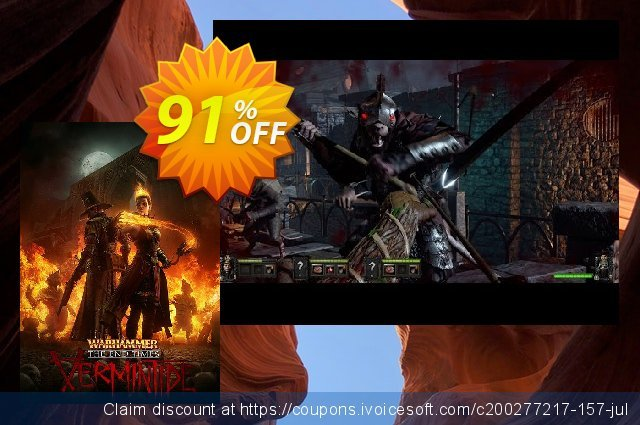 Warhammer: End Times - Vermintide PC discount 92% OFF, 2021 Mother's Day offering deals. Warhammer: End Times - Vermintide PC Deal