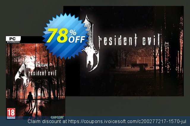 Resident Evil 4 HD PC discount 77% OFF, 2020 Exclusive Student discount promotions