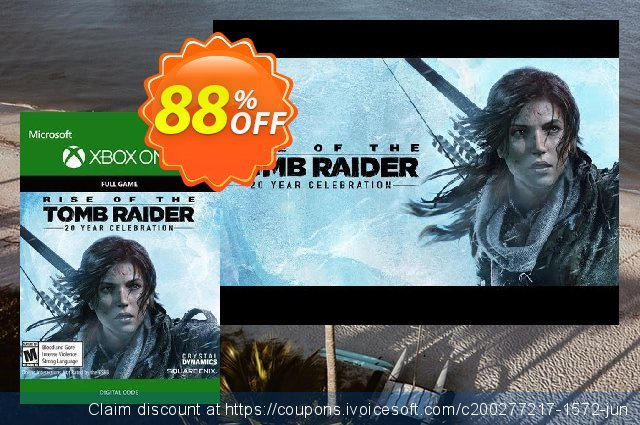 Rise of the Tomb Raider 20 Year Celebration Xbox One discount 62% OFF, 2020 University Student offer deals