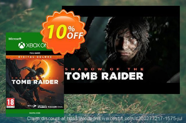 Shadow of the Tomb Raider Deluxe Edition Xbox One discount 10% OFF, 2020 College Student deals offering discount