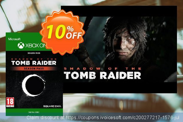 Shadow of the Tomb Raider Season Pass Xbox One discount 10% OFF, 2021 New Year offering sales