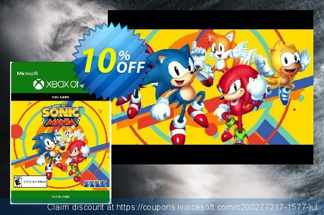 Sonic Mania Xbox One discount 11% OFF, 2020 College Student deals offering deals