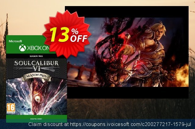 Soulcalibur VI 6 Season Pass Xbox One discount 13% OFF, 2020 Back to School Promos promo