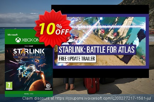 Starlink: Battle for Atlas Xbox One discount 10% OFF, 2020 Back to School promo offering sales