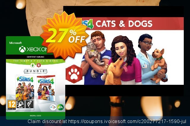 The Sims 4 - Cats and Dogs Bundle Xbox One  최고의   프로모션  스크린 샷